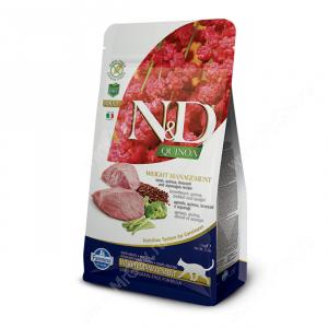 Farmina N&D Quinoa Weight Management Lamb Adult Cat