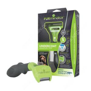 FURminator для длинношерстных собак, малый