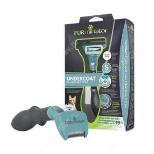 FURminator для короткошерстных кошек, малый