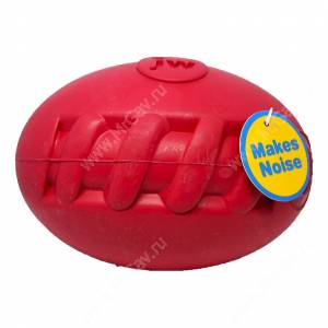 Футбольный мяч с пищалкой JW Football Silly Sounds, средний