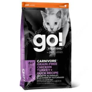 GO! Carnivore Grain Free Cat Chicken, Turkey, Duck, Salmon