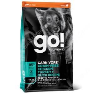 GO! Carnivore Grain Free Dog Adult Chicken, Turkey, Duck, Salmon Recipe