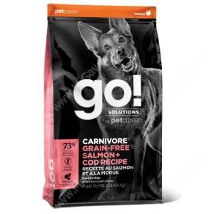 GO! Carnivore Grain Free Dog Salmon & Cod Recipe