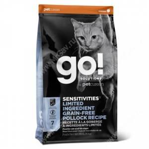 GO! Sensitivity + Shine Grain Free Pollock Cat Recipe