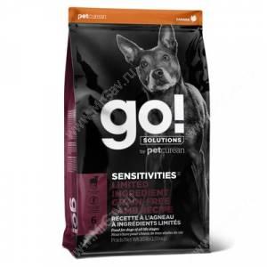 GO! Sensitivity + Shine LID Lamb Dog Recipe Grain Free, Potato Free