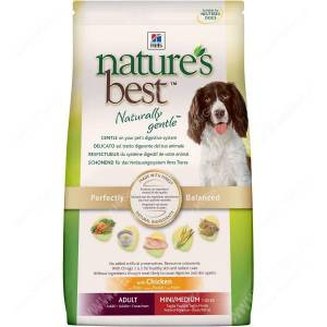 Hill's Nature's Best натуральный сухой корм для собак с курицей