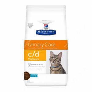 Hill's Prescription Diet c/d Multicare Urinary Care сухой корм для кошек с рыбой, 1,5 кг