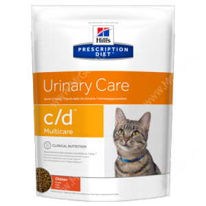 Hill's Prescription Diet c/d Multicare Urinary Care сухой корм для кошек с курицей