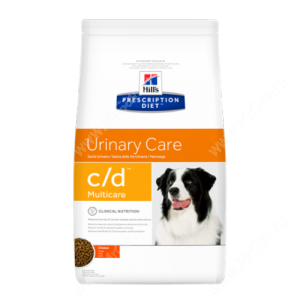Hill's Prescription Diet c/d Multicare Urinary Care сухой корм для собак с курицей
