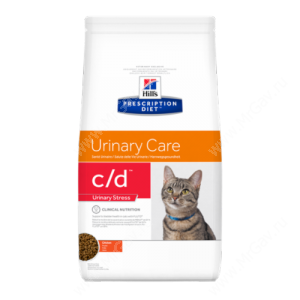 Hill's Prescription Diet c/d Urinary Stress Urinary Care сухой корм для кошек с курицей
