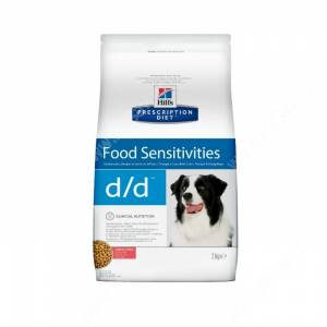 Hill's Prescription Diet d/d Food Sensitivities сухой корм для собак с лососем и рисом
