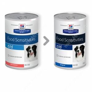 Hill's Prescription Diet d/d Food Sensitivities влажный корм для собак с лососем 370 г