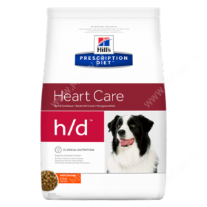 Hill's Prescription Diet h/d Heart Care сухой корм для собак с курицей, 5 кг