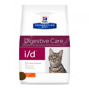 Hill's Prescription Diet i/d Digestive Care сухой корм для кошек с курицей
