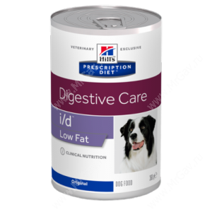 Hill's Prescription Diet i/d Low Fat Digestive Care влажный корм для собак, 360 г