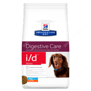 Hill's Prescription Diet i/d Stress Mini Digestive Care сухой корм для собак мелких пород с курицей