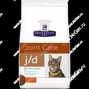 Hill's Prescription Diet j/d Joint Care сухой корм для кошек с курицей