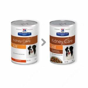 Hill's Prescription Diet k/d Kidney Care влажный корм для собак, 370 г