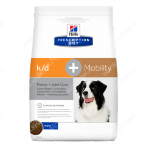 Hill's Prescription Diet k/d + Mobility Kidney + Joint Care сухой корм для собак