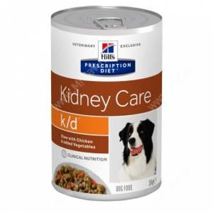 Hill's Prescription Diet k/d Рагу c курицей и добавлением овощей для собак, 354 г