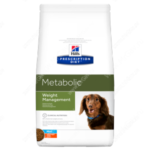 Hill's Prescription Diet Metabolic Mini Weight Management сухой корм для собак с курицей