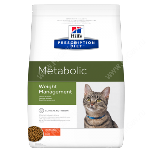 Hill's Prescription Diet Metabolic Weight Management сухой корм для кошек с курицей
