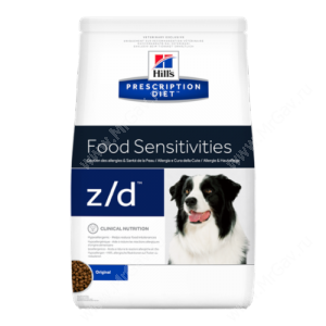 Hill's Prescription Diet z/d Food Sensitivities сухой корм для собак, 10 кг
