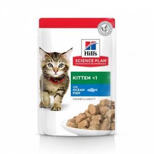 Hill's Science Plan Healthy Development влажный корм для котят с океанической рыбой, 85 г