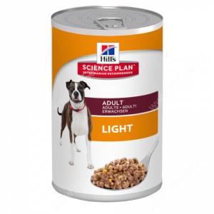 Hill's Science Plan консервы для взрослых собак, склонных к набору веса, 370 г