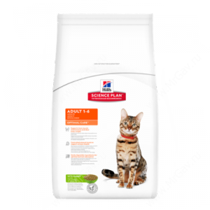 Hill's Science Plan Optimal Care сухой корм для кошек с кроликом, 2 кг