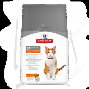 Hill's Science Plan Sterilised Cat сухой корм для кошек и котят курица, 3,5 кг
