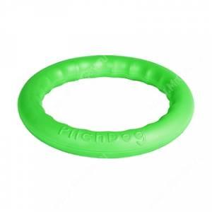 Игровое кольцо для апортировки PitchDog 30, 28 см, зеленое