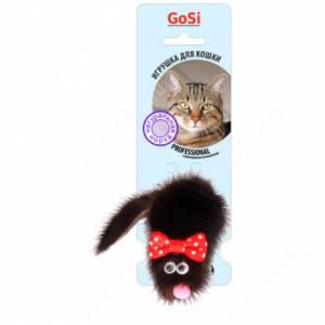 Игрушка для кошек GoSi Мышь Микки