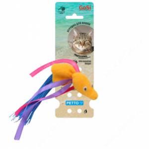 Игрушка для кошек GoSi Рыбка с пищалкой