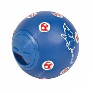 Игрушка для кошек под лакомства мяч Trixie, 7,5 см