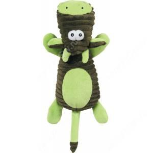 Игрушка плюшевая для собак Zolux корова, 25 см, зеленая