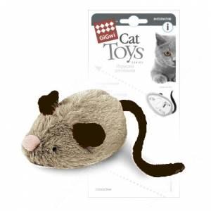 Интерактивная мышка GiGwi, 19 см