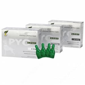 Капли для собак Dermoscent Pyo Spot, S (0-10 кг), 4 пипетки