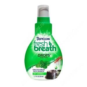 Капли для собак и кошек Tropiclean Fresh Breath, 65 мл