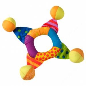 Кольцо текстильное с мячиками Petstages, мини