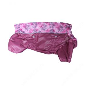 Комбинезон синтепоновый для такс OSSO, девочка, модель т-2, 45 см, розовый