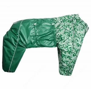 Комбинезон синтепоновый OSSO, мальчик, 55 см, модель 2, зеленый
