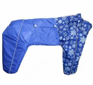 Комбинезон синтепоновый OSSO, мальчик, 60 см, модель 1, синий