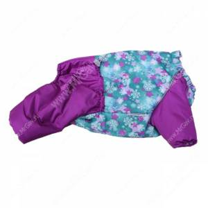 Комбинезон синтепоновый OSSO Снежинка, девочка, 28 см, розовый