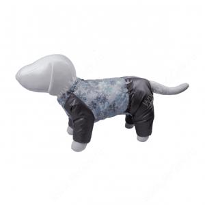 Комбинезон синтепоновый OSSO Снежинка, мальчик, 22 см, серый