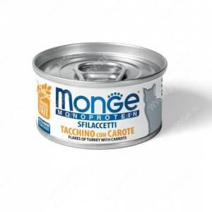 Консерва Monge Cat Monoprotein (Хлопья из индейки с морковью)