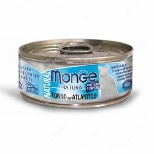 Консерва Monge Cat Natural (Атлантический тунец), 80 г