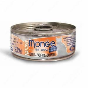 Консерва Monge Cat Natural (Тунец с лососем), 80 г