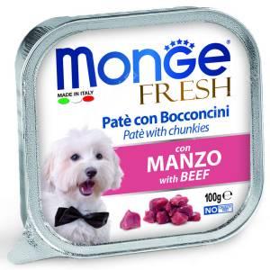 Консерва Monge Dog Fresh (Говядина), 100 г