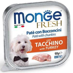 Консерва Monge Dog Fresh (Индейка)